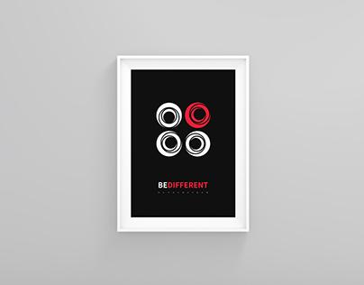 Burak Bayram Logo Poster Design