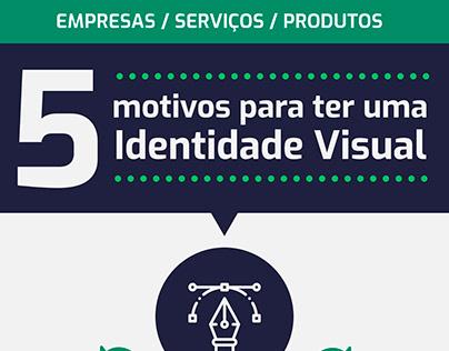 5 motivos para ter uma identidade visual