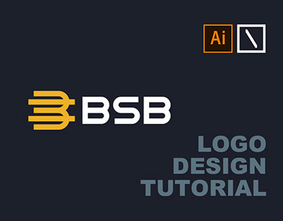 BSB Logo Design | Adobe Illustrator Tutorial