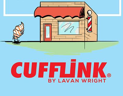 Cut hair with Cufflink Comic