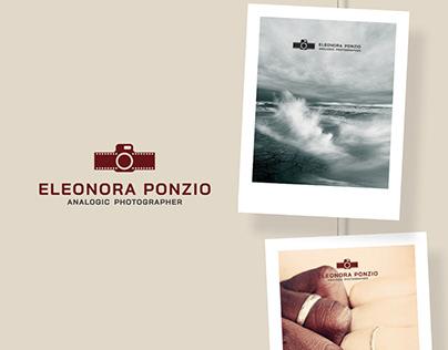 LOGO DESIGN | Eleonora Ponzio • analogic photographer