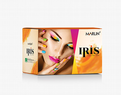 Nail box Packaging design