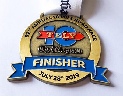 Tely 10 - Medal Design