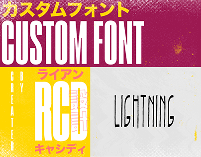Lightning Font
