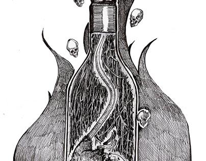 Чума. Ілюстрація до збірки жахів