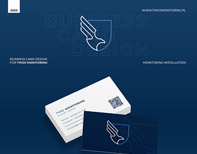 Business Card Design for TWOJ MONITORING
