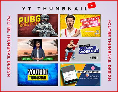 6 Eye catchy YouTube thumbnail design