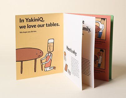 YakiniQ Café Table Care Visual System