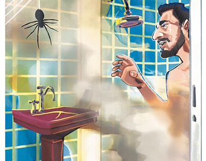 Paulo Germano. Ilustracão de crônica em ZERO HORA.