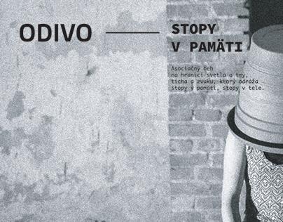 ODIVO - Performancia - Stopy v pamäti