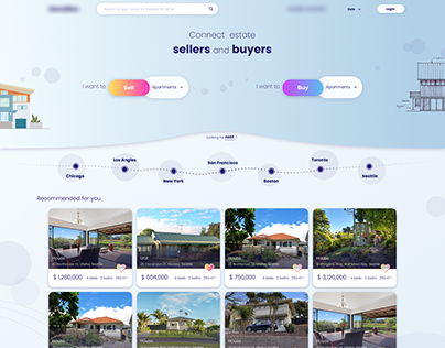Real Estate platform design
