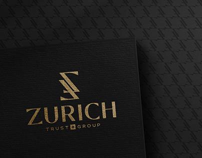Elegant Logo Design in Gold & Black