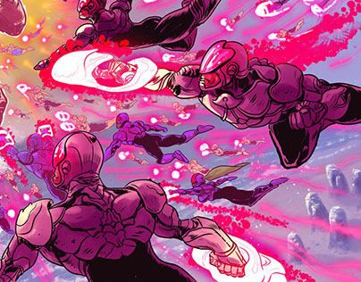 Supernaut Comic Interior Spread