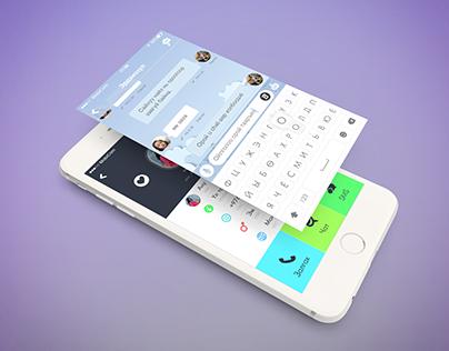 U Chat Messenger ThemeDesign