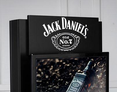 Jack Daniel's family stand
