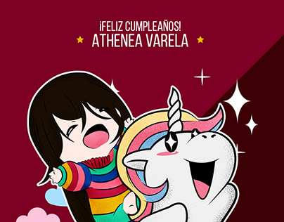 ¡Feliz Cumpleaños Athenea!