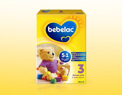 Bebelac 3D Package Designs