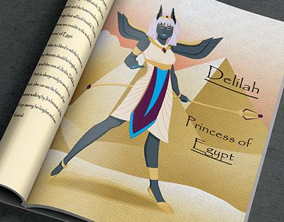 Monster: Delilah-Princess of Egypt