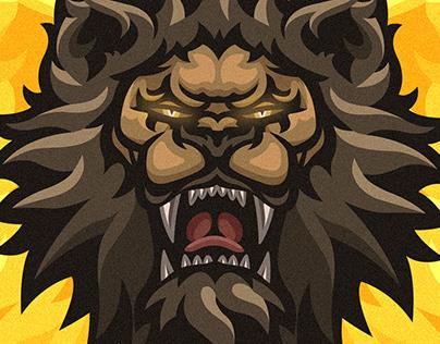 SAVANNAH LION