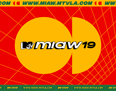 MTV MIAW 2019 / Graphic Pack / Visual Identity