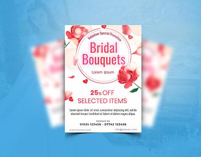 Bridal Promo Flyer Design