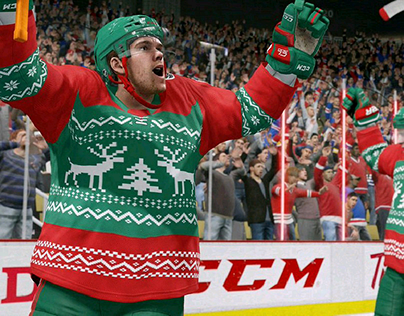 EA NHL 18 Hockey Ultimate Team Jersey Design Project