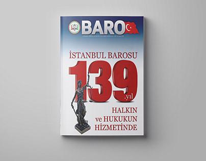 İstanbul Barosu - Bülten Tasarımı