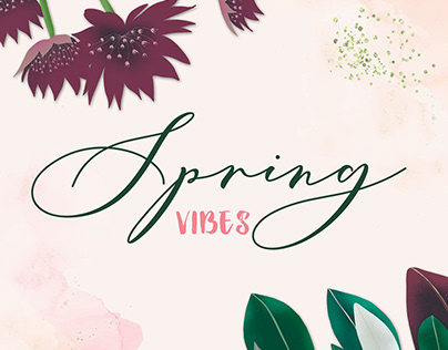 SPRING CARDS TEMPLATES