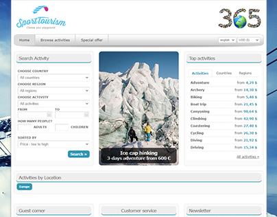SportTourism.com webshop