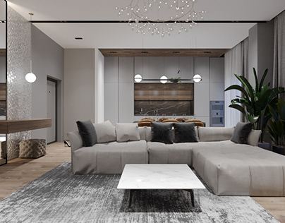Design apartment CHELYABINSK