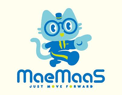 MaeMaaS mascot design