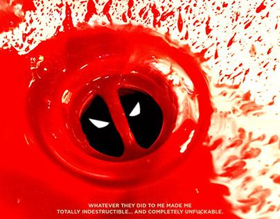 Minimal Deadpool Poster concept