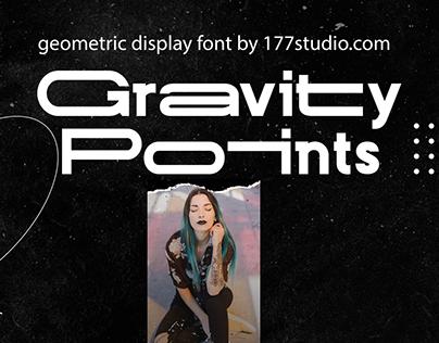 Free Font - Gravity Points