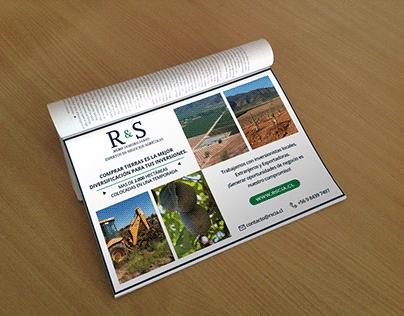 Aviso para Revista R&S Agro Inmobiliario