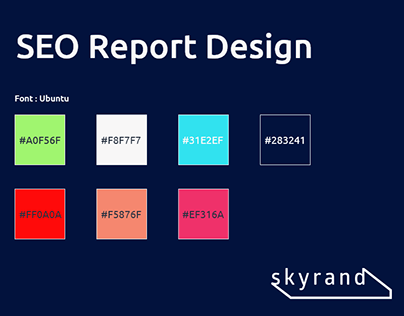 SEO Report Template