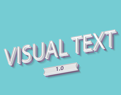 Visual Texts 1.0