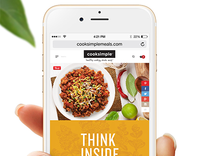 Cooksimple: Mobile Design