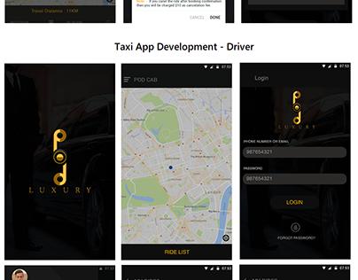 Pod Luxury - Taxi Booking App Development