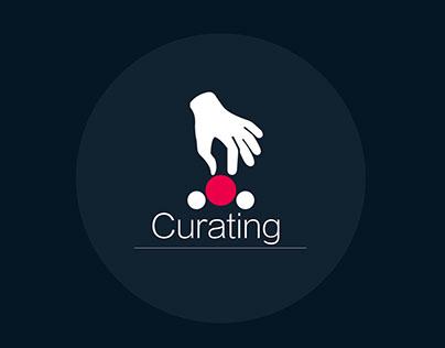 Curating App - Mobile UI/UX