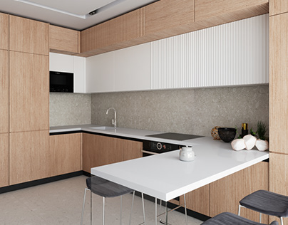 Light Apartment 100 m2 in Kiyv