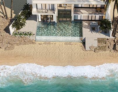 beach villa ( dr raed)
