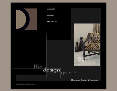 Web Design - The Design Group. Furniture Restoration