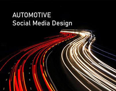 "Automotive ""Social Media Design"""