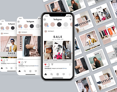 Fashion Instagram Post & Stories Templates