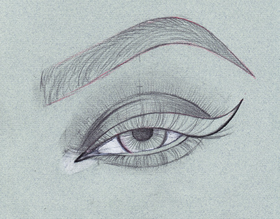 Eye Sketch for Vector Illustration + Quick Draw Video
