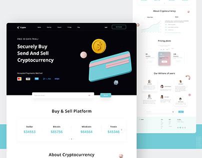 Trending Crypto Exchange Platform UI Design