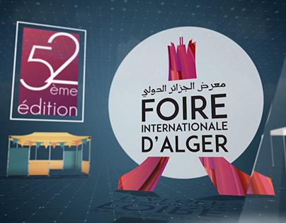 La foire internationale d'Alger - Pub