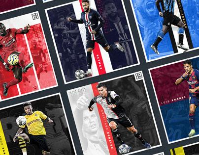 European Leagues Hype Social Graphics