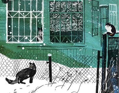 cats from Vyritsa