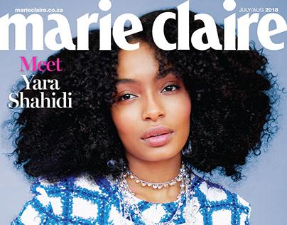 Copy Editing - Marie Claire Magazine